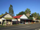 Picture relating to Kilkivan - titled 'Kilkivan - Three shops in Bligh Street'