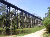 Picture of / about 'Nowa Nowa' Victoria - Trestle Bridge on Stony Creek, Colqhoun State Forest