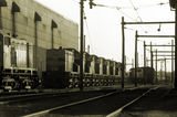Picture relating to North Melbourne - titled 'Locomotives at South Dynon'
