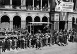 Picture relating to Brisbane - titled 'Opening of Battle Stations Week by the Lord Mayor Chandler in August 1942'