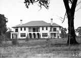 Picture relating to Adelaide Avenue - titled 'Prime Ministers Lodge, Adelaide Avenue, Deakin, from the north.'