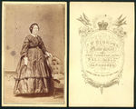 Picture of / about 'Bendigo' Victoria - Louisa Burrows by J.W. BURROWS, Photographer of (Sandhurst) Bendigo.