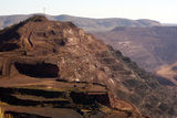 Picture relating to Chichester Range - titled 'Iron Ore Mining, Newman, WA'