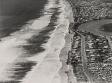 Picture of / about 'Main Beach' Queensland - Aerial view of Main Beach and Narrow Neck, ca. 1952