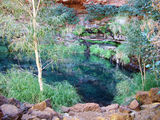 Picture relating to Karijini National Park - titled 'Circular Pool'