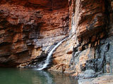 Picture relating to Karijini National Park - titled 'Handrail Pool'