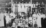 Picture relating to Queensland - titled 'Unidentified school group, 1910-1920'