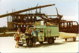Picture relating to Fraser Island - titled 'Wreck of the Maheno on Beach at Fraser Island 1979'