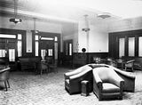 Picture relating to Parliament House - titled 'Old Parliament House, Members reading room. Library.'