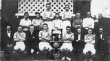 Picture relating to Kangaroo Point - titled 'Kangaroo Point CRICKET TEAM 1919'