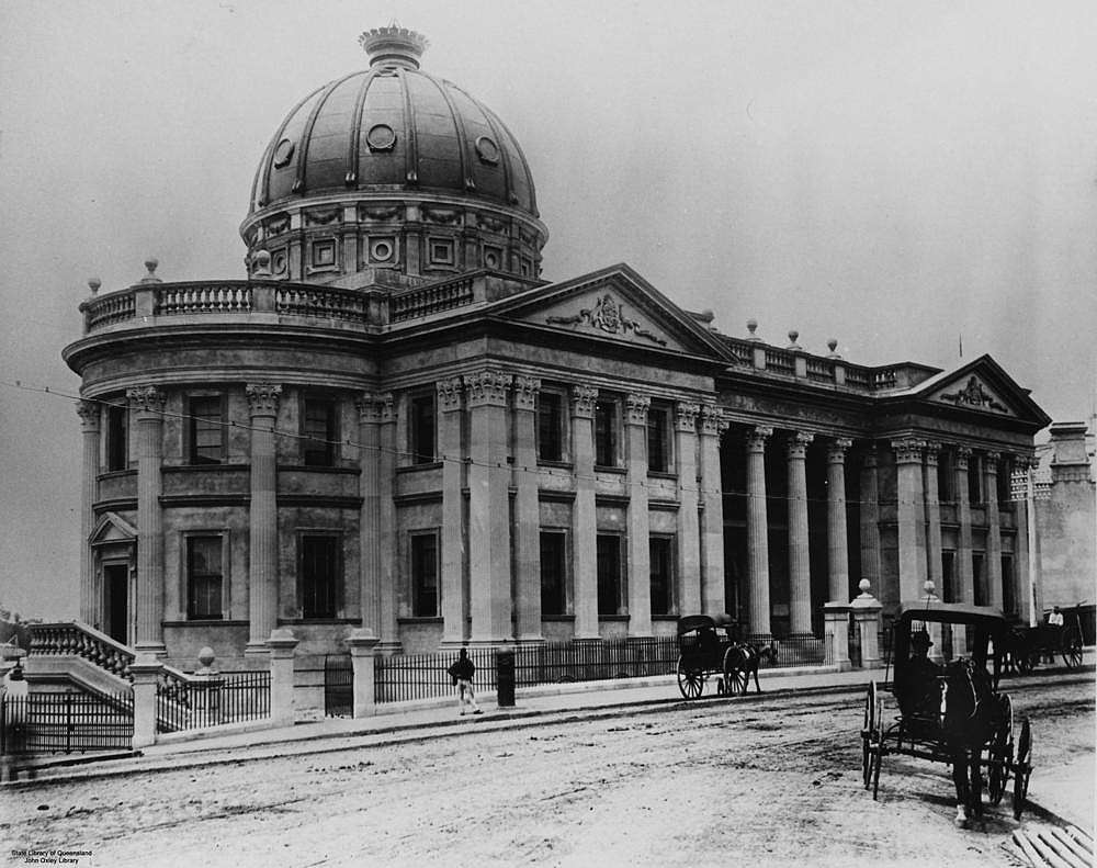 Picture of / about 'Brisbane' Queensland - Customs House Brisbane, 1889