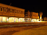 Picture relating to Werris Creek - titled 'Werris Creek station at night (2)'