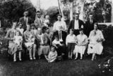 Picture relating to Kingaroy - titled 'Horton family gathering, Kingaroy, ca. 1930'