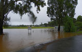 Picture relating to Wedderburn - titled 'A very wet Donaldson Park  Wedderburn'