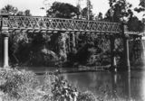 Picture relating to Maroochy River - titled 'Maroochy River Bridge, 1901'