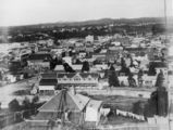 Picture relating to Brisbane - titled 'View of Brisbane city's central business district, ca. 1883'