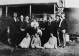 Picture relating to Laidley - titled 'Fielding family gathering in 1927 at Laidley'
