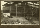 Picture relating to Mount Isa - titled 'Ore bins in the smelter works, Mt. Isa, 1932'
