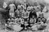 Picture relating to Sapphire - titled 'Sapphire Rugby League Team, Queensland, 1913'