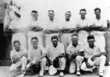 Picture relating to Canungra - titled 'Canungra Cricket Team, ca. 1935'