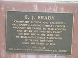 Picture relating to Mallacoota - titled 'E. J. Brady Plaque'