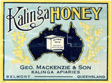 Picture relating to Kalinga - titled 'Kalinga Honey label'