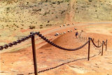 Picture relating to Chichester Range - titled 'Climbing Ayers Rock (Uluru)'