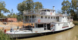 Picture of / about 'Wentworth' New South Wales - Paddle Steamer 'Ruby' Wentworth