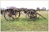 Picture relating to Binda - titled 'Old Wagon remains'