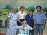 Picture relating to Longreach - titled 'Ivy McNally's last visit to Welcome Home Hotel in Longreach'