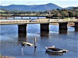 Picture relating to Ulverstone - titled 'Leven River Ulverstone'