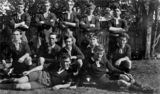 Picture relating to Toowoomba - titled 'Rugby League team from Toowoomba, ca. 1919'