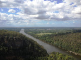 Picture relating to Nepean River - titled 'Nepean River from the Mount Portal Lookout'