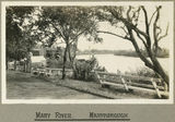 Picture relating to Maryborough - titled 'View of the Mary River at Maryborough, 1924'