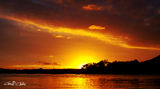 Picture relating to Gosford - titled 'Orange Blaze - Sunset.  Gosford'