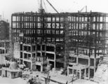 Picture relating to Queensland - titled 'Construction of the State Government Building on the corner of Adelaide and Edward Streets, Brisbane, 1932'