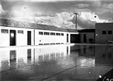 Picture relating to Manuka - titled 'Manuka swimming pool, Manuka Circle, The deep end.'