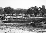 Picture relating to Acton - titled 'Australian Institute of Anatomy, footings under construction, McCoy Circle, Acton.'