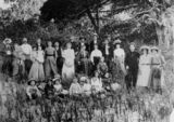 Picture relating to Burrum Heads - titled 'Group portrait at Burrum Heads, ca. 1911'