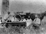 Picture relating to Brandon - titled 'Picnic in the bush, ca. 1880'