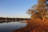 Picture relating to Yarralin School - titled 'Billabong at Sunset'