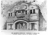 Picture of / about 'King Street' Queensland - His Majesty's Theatre, Warwick, 1920