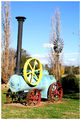 Picture relating to Jugiong - titled 'Steam Engine - Jugiong - New South Wales'