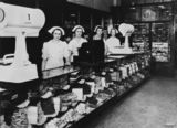 Picture relating to Brisbane - titled 'George E. Adams' cake shop, Brisbane Arcade, Brisbane, ca. 1938'