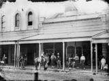 Picture relating to Brisbane - titled 'Queen Street, Brisbane, ca 1872'