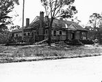Picture relating to Acton - titled 'House under construction, Balmain Crescent Acton.'