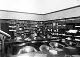 Picture relating to Yarralumla - titled 'The Library, Australian Forestry School, Banks Street Yarralumla.'