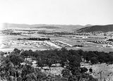 Picture relating to Reid - titled 'View from Mount Ainslie over Reid and Civic Centre'