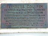 Picture relating to Mount Lofty - titled 'Flinders Column Plaque'