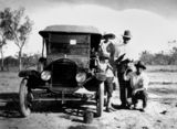 Picture relating to Queensland - titled 'On the road to Vanrook, ca. 1925'